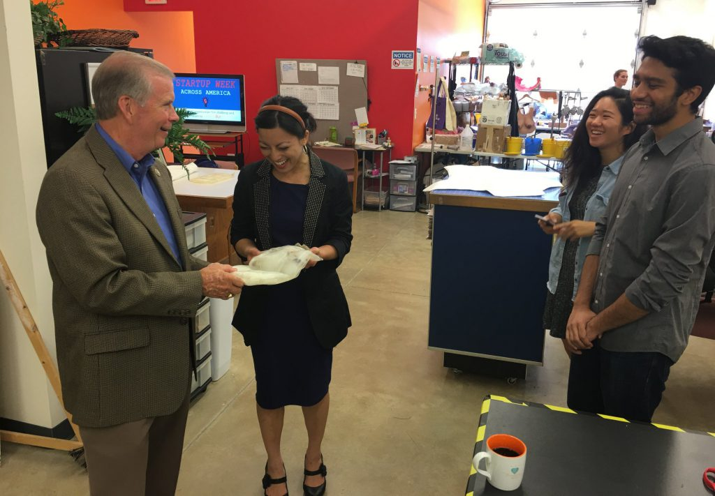 Representative Tim Walberg Visits for Startup Week